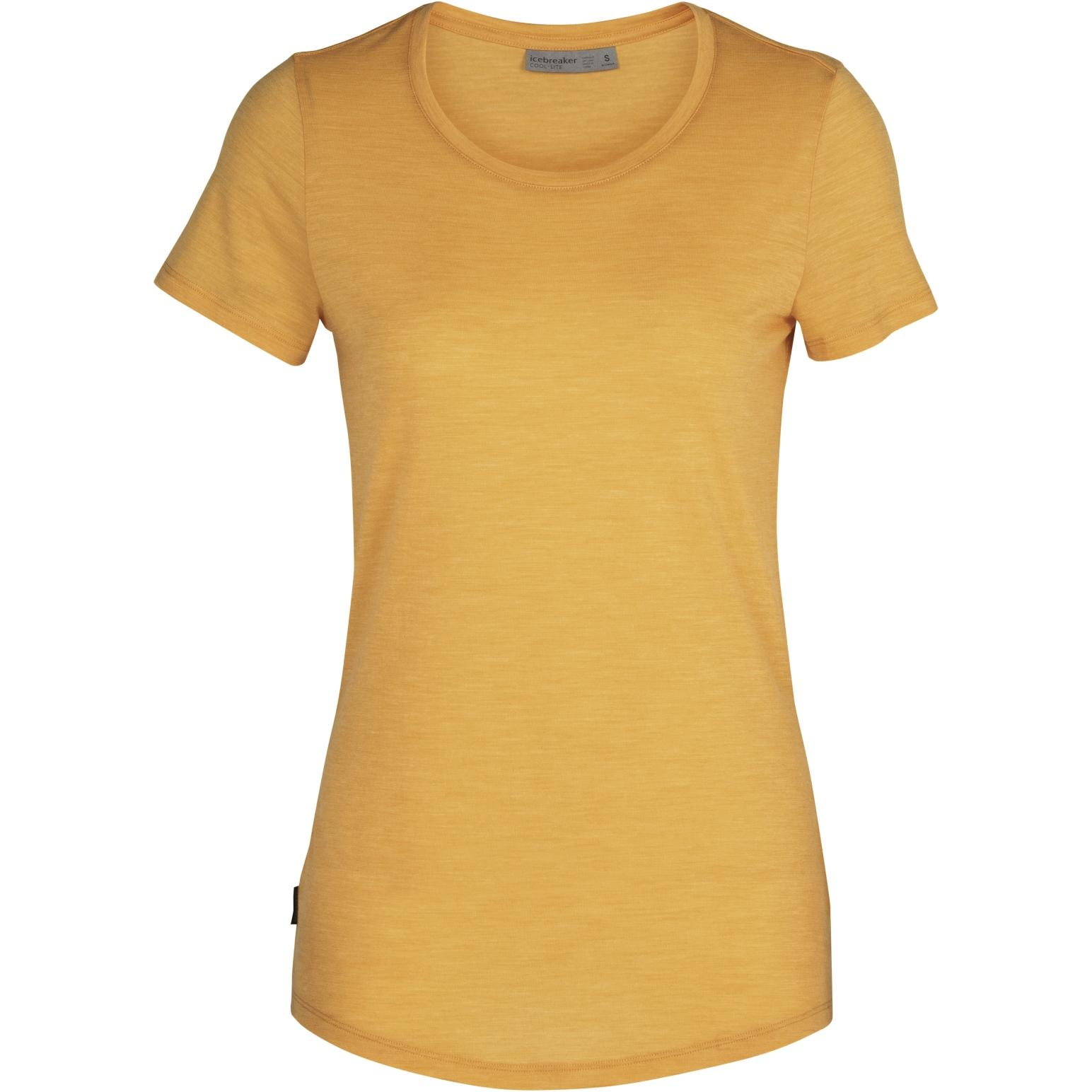 Produktbild von Icebreaker Sphere Low Crewe Damen T-Shirt - Safflower HTHR