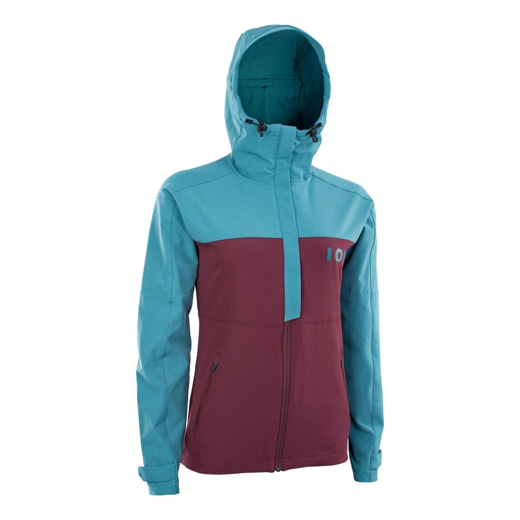 ION Bike Softshell Jacket Shelter Women - laguna green