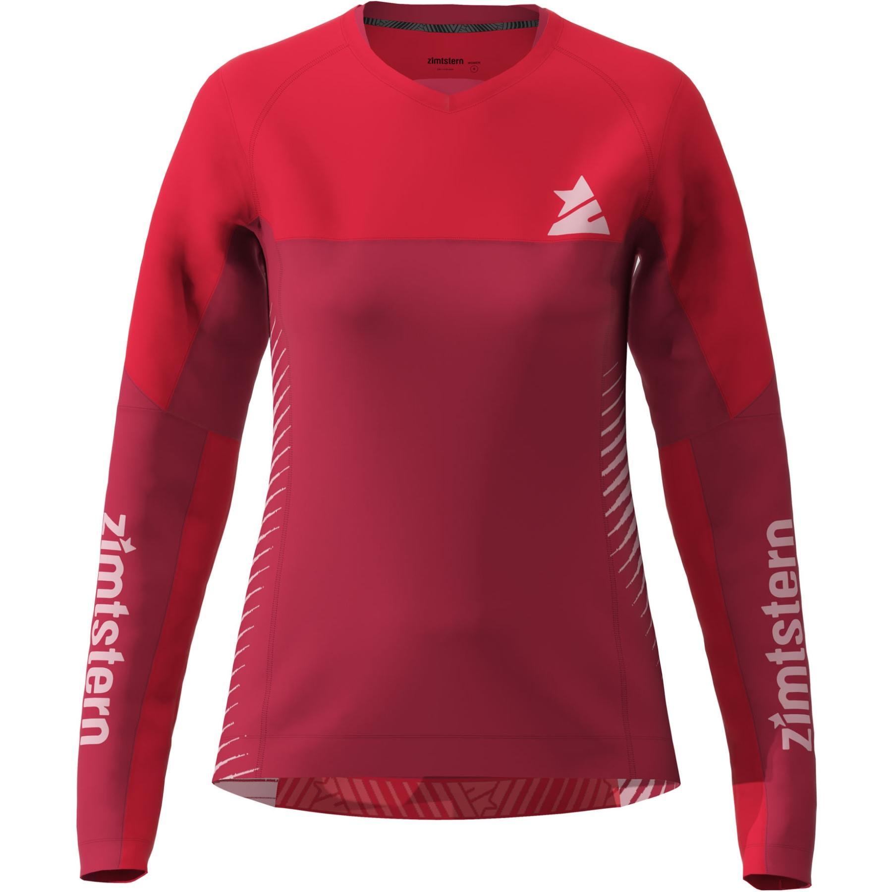 Zimtstern Bulletz Langarm-Shirt Damen - jester red/cyber red