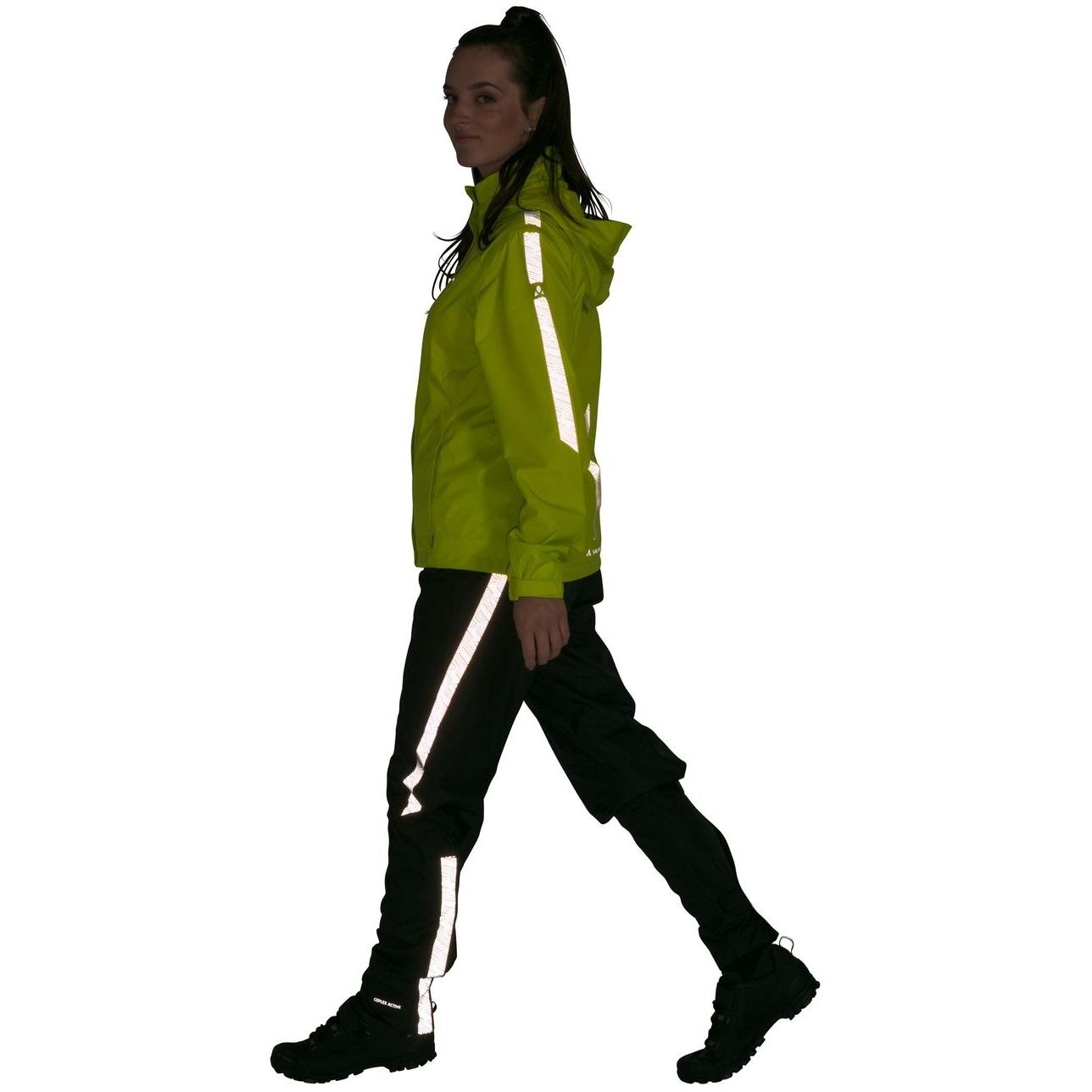 Bild von Vaude Luminum Damen Regenjacke II - bright green