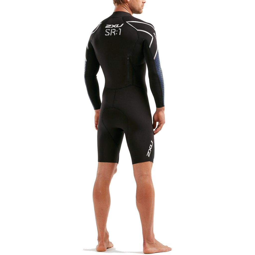 Imagen de 2XU SR:1 Swimrun SR1 Wetsuit - black/blue surf print