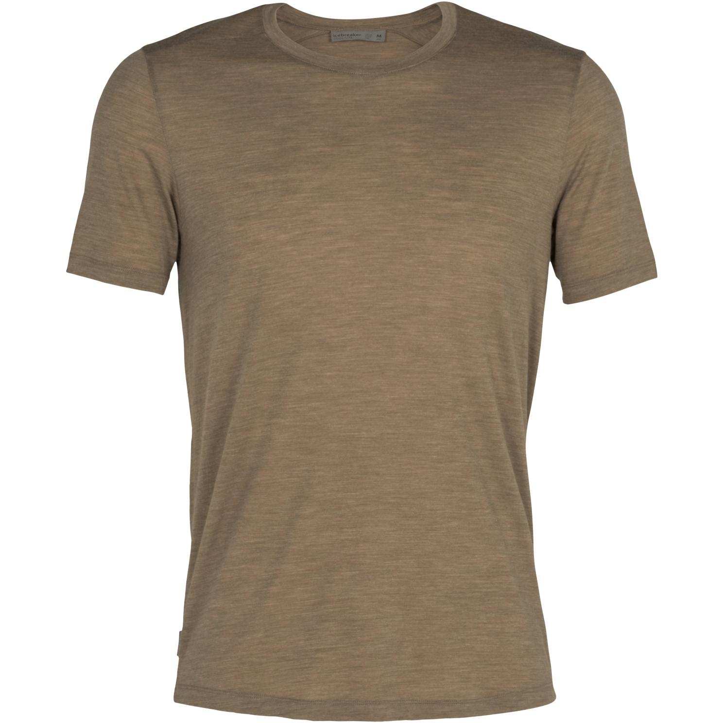 Produktbild von Icebreaker Sphere Crewe Herren T-Shirt - Flint HTHR