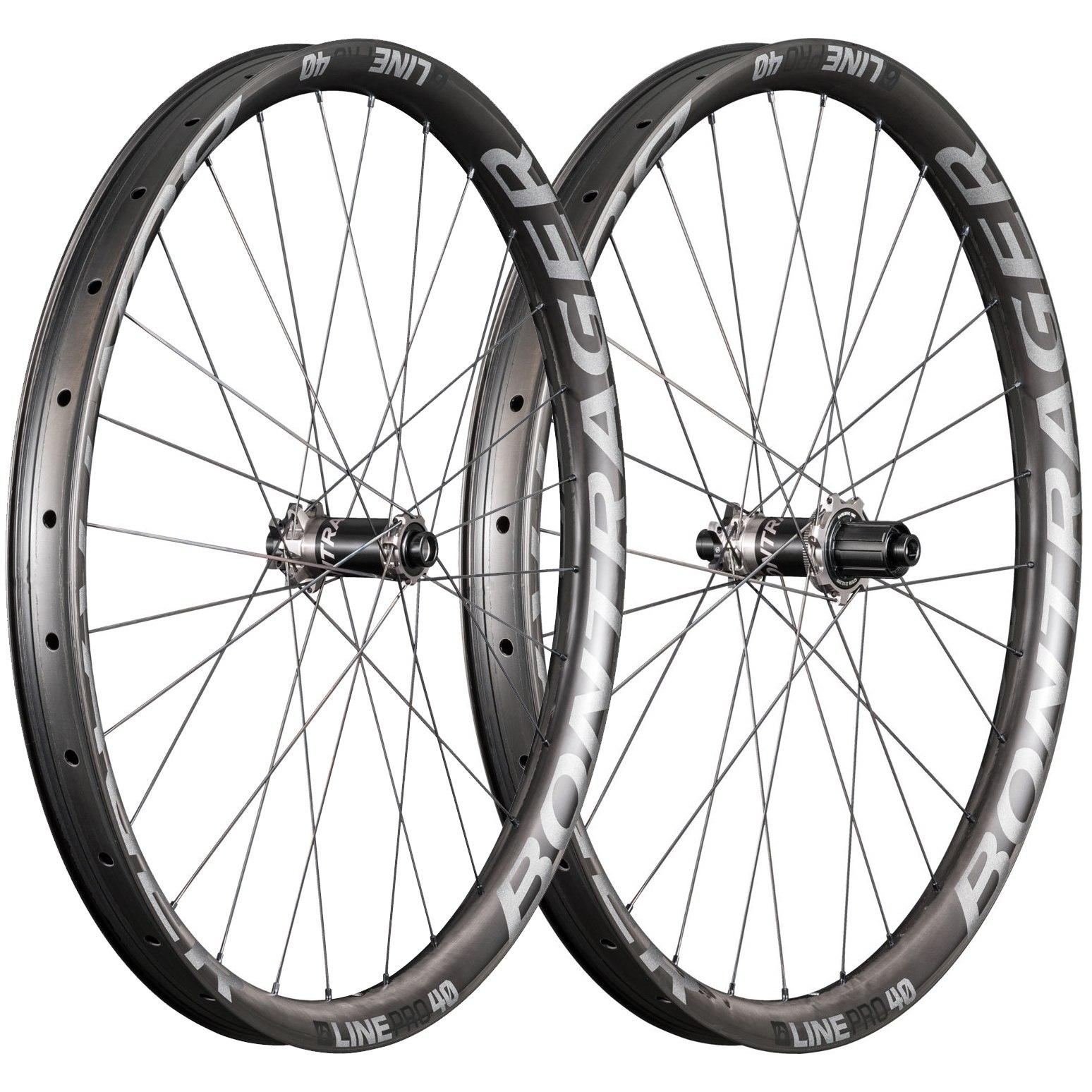 "Bontrager Line Pro 40 TLR Boost 27,5"" Wheelset - 6-Bolt - FW: 15x110mm   RW: 12x148mm Boost"