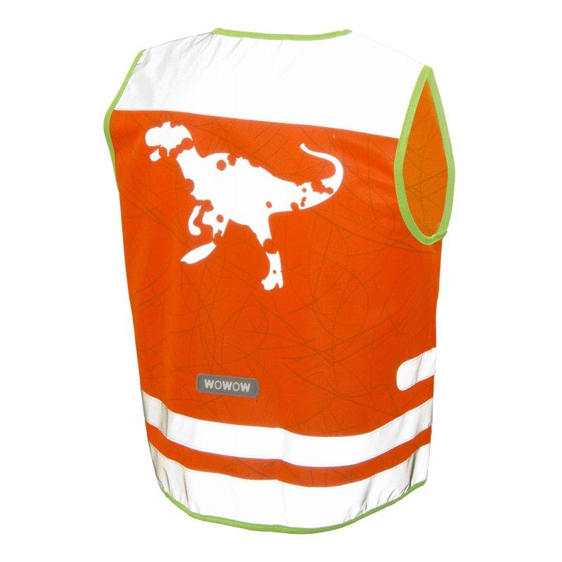 WOWOW Nutty Jacket - Sicherheitsweste für Kinder - orange