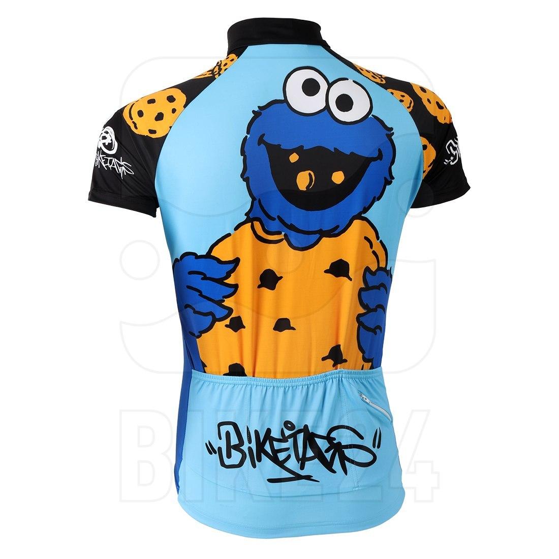 Image of Biketags Jersey Sesame Street - Cookie Monster