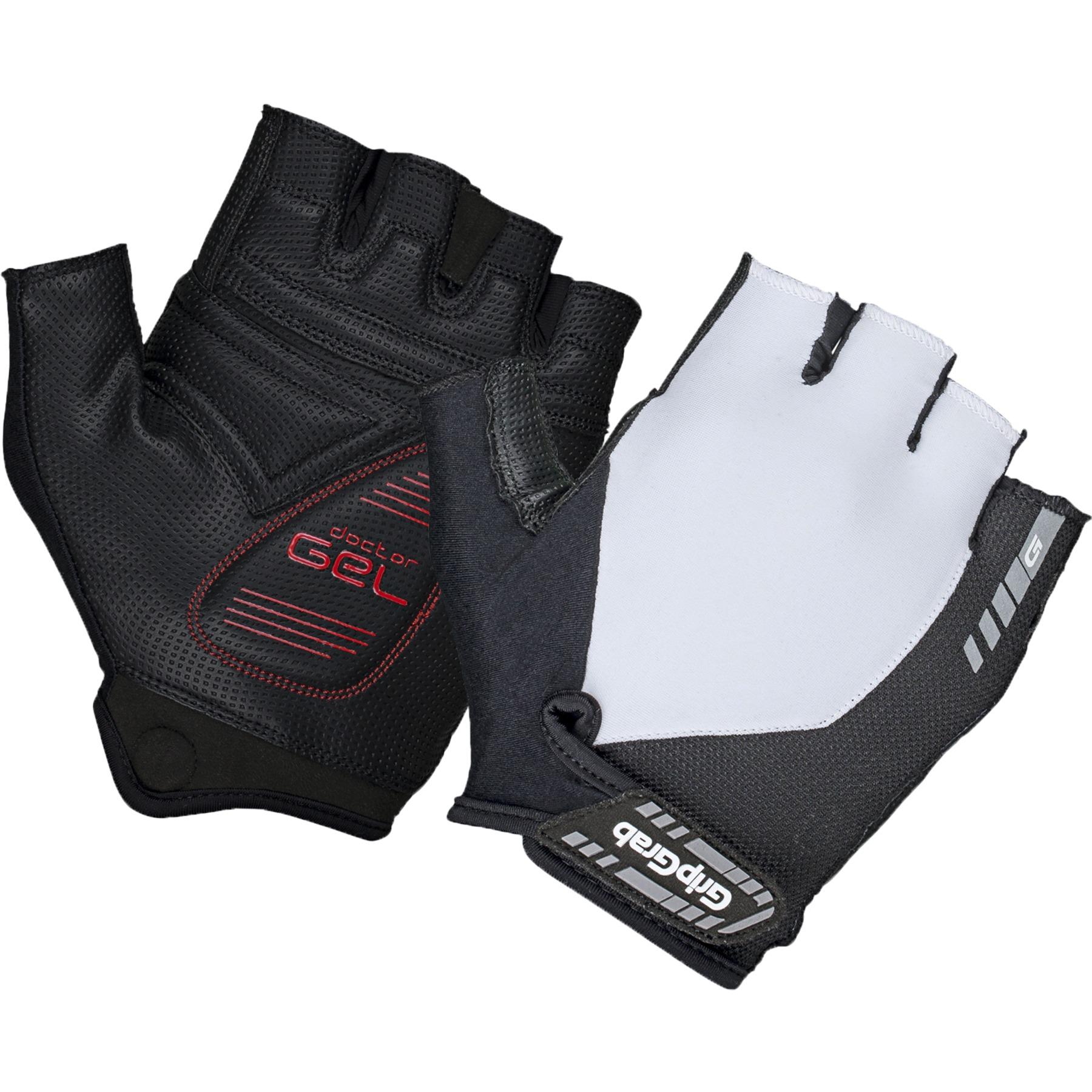 GripGrab ProGel Padded Short Finger Glove - white