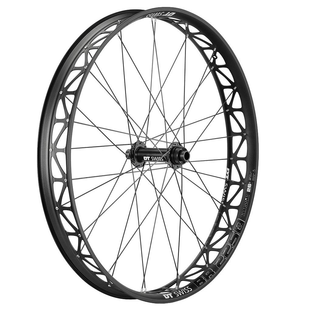 "DT Swiss BR 2250 Classic Fatbike 26"" Wheelset - Centerlock - FW: 15x150mm   RW: 12x197/190mm - black"