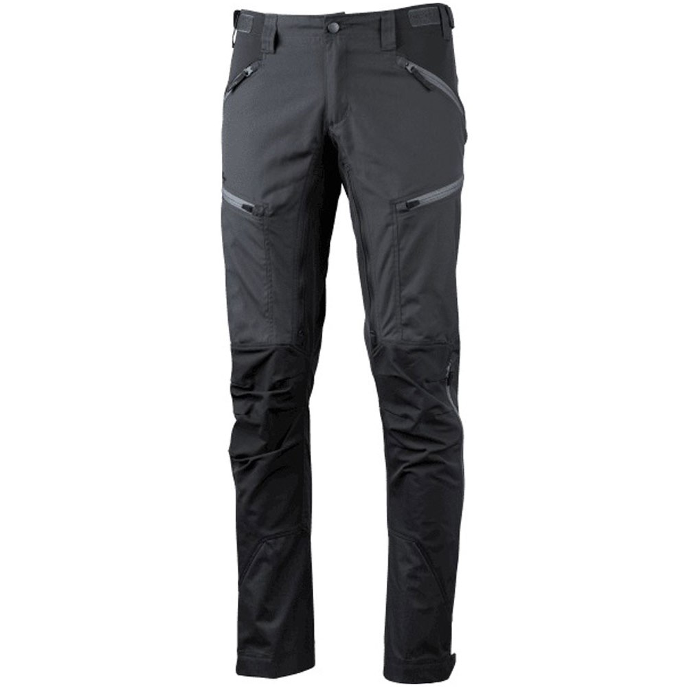 Image of Lundhags Makke Pants Long - Granite/Charcoal 834