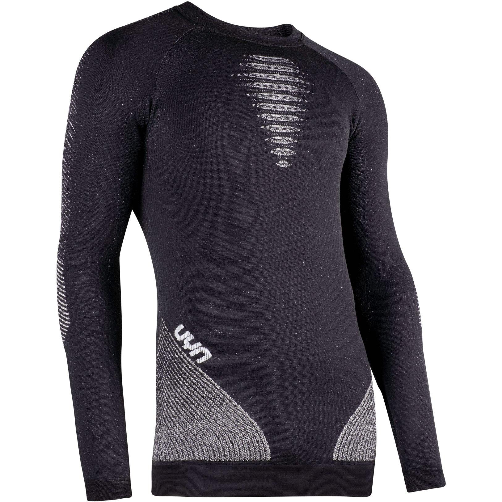 Image of UYN Cashmere Shiny 2.0 Underwear Longsleeve Shirt - Celebrity Silver