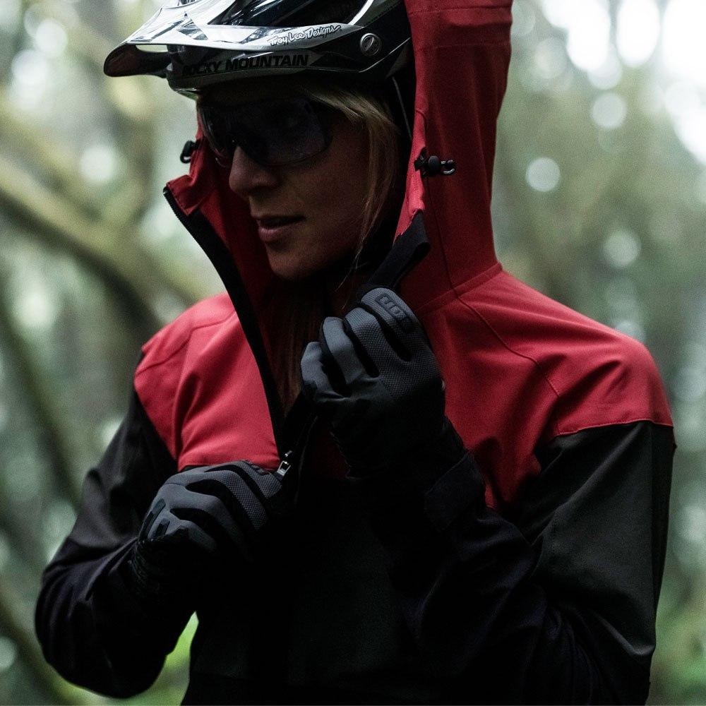 Image of ION Bike Softshell Jacket Shelter Women - red haze