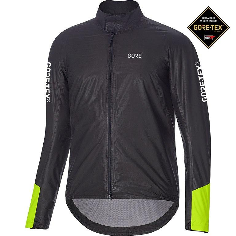 GORE Wear C5 GORE-TEX® SHAKEDRY™ 1985 Insulated Viz Jacket - black/neon yellow 9908