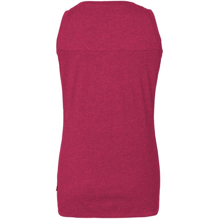 Image of Vaude Women's Elassona Top - crimson red