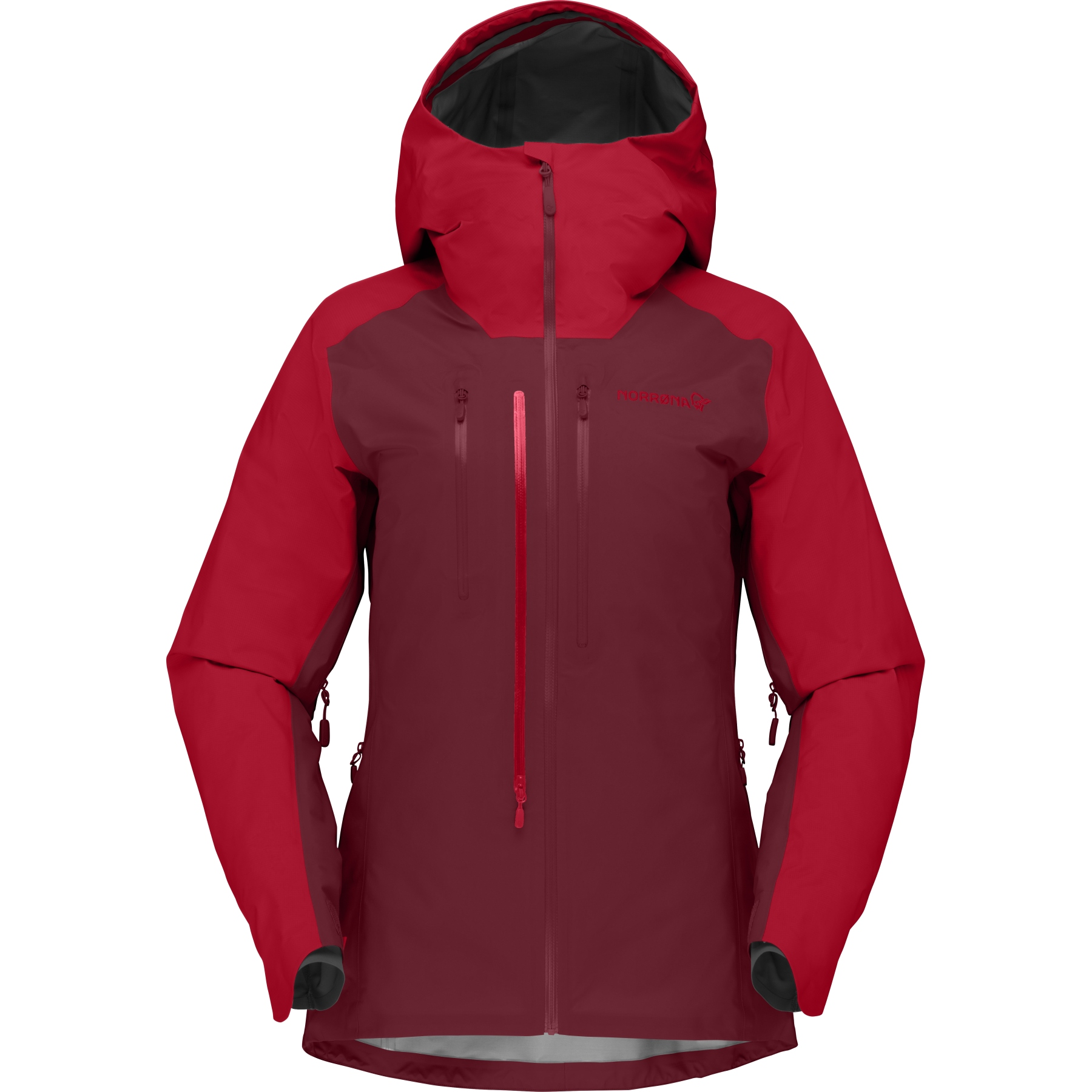 Norrona lyngen Gore-Tex Jacket Women - True Red/Rhubarb
