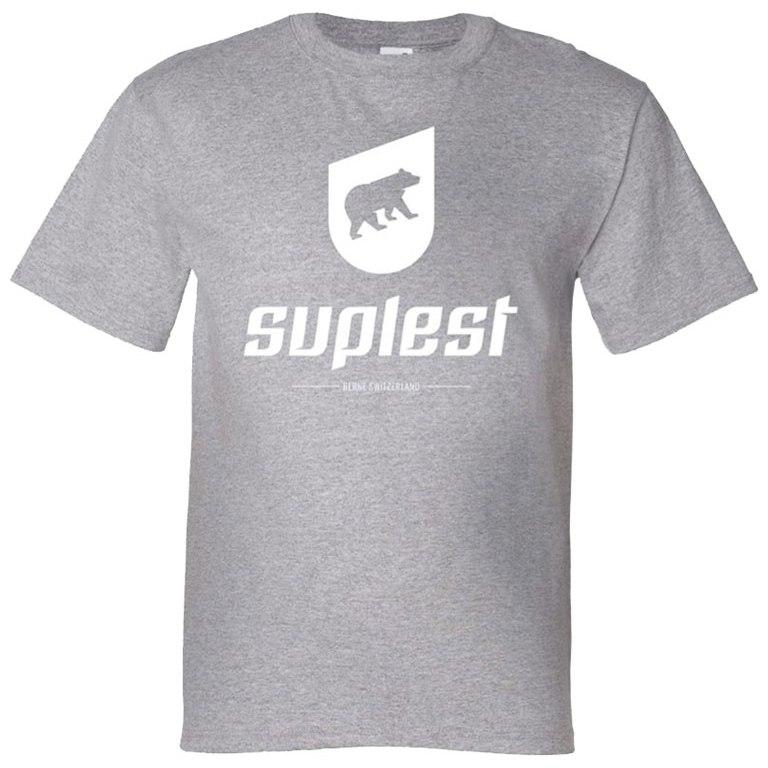 Suplest T-Shirt Logo - grey