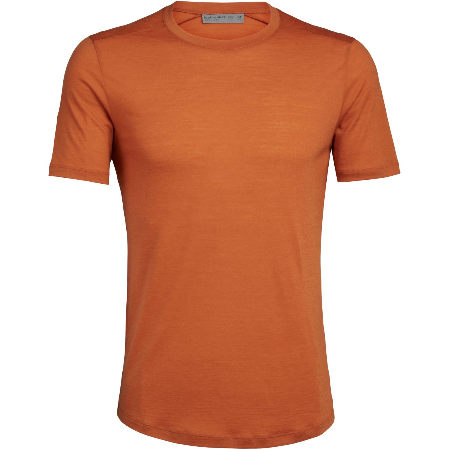 Icebreaker Sphere Crewe Herren T-Shirt - Spice