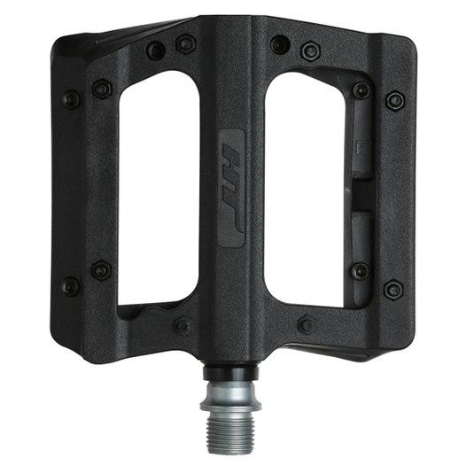Produktbild von HT PA12A NANO P Flat Pedal Aluminium - schwarz
