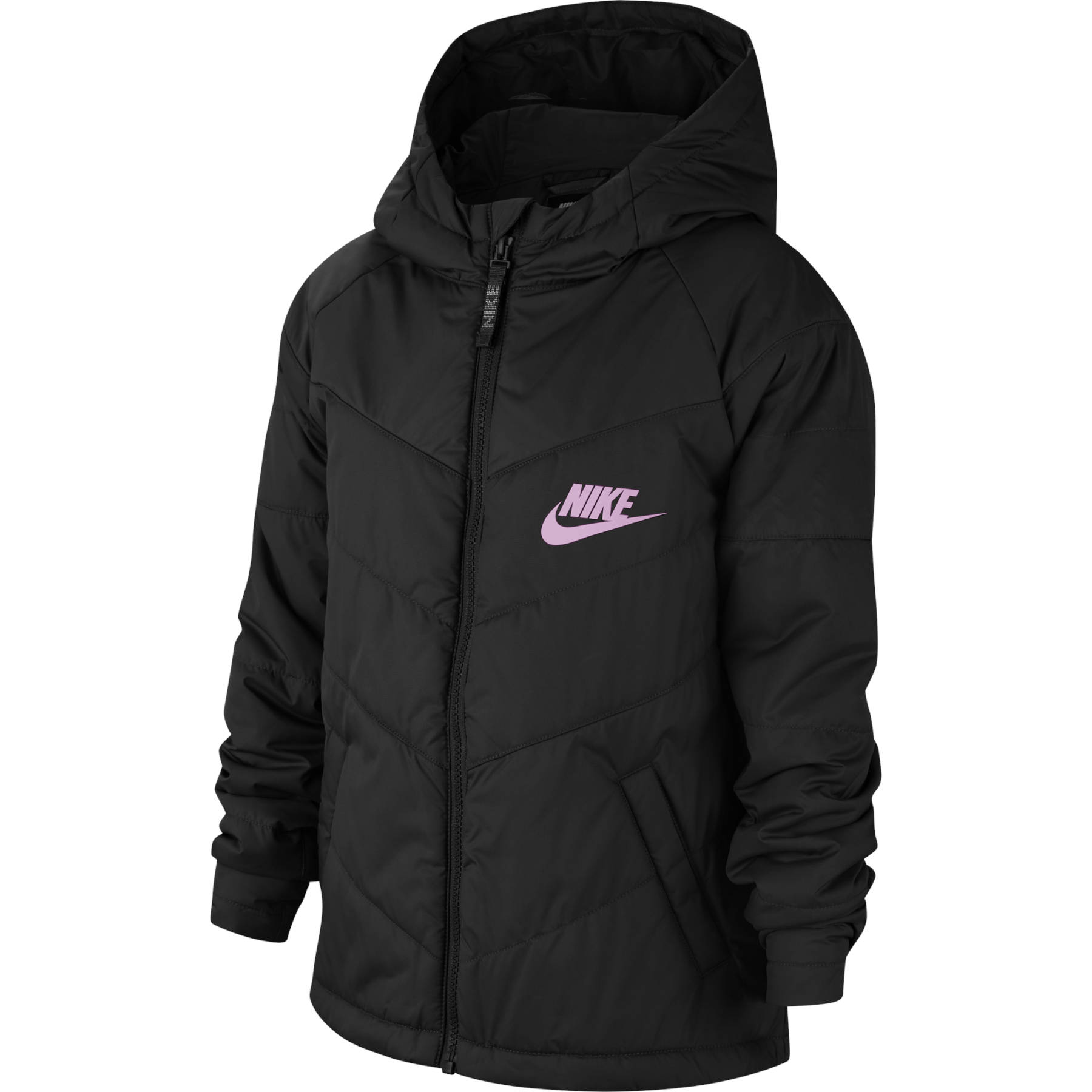 Nike Sportswear Jacke für ältere Kinder - black/black/black/light arctic pink CU9157-013