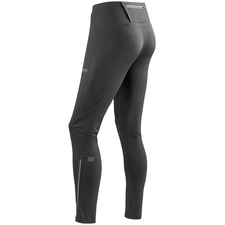 Image of CEP Winter Run Pants - black