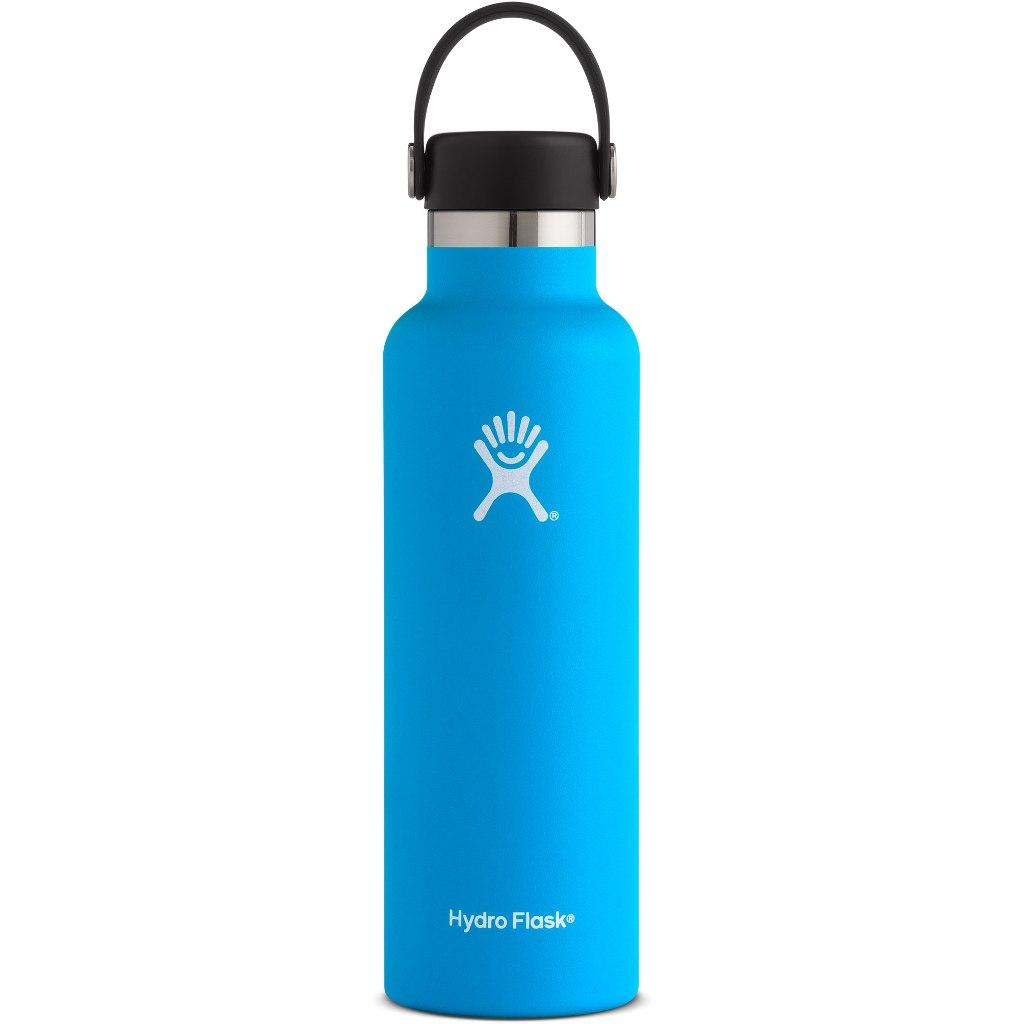 Produktbild von Hydro Flask 21 oz Standard Mouth Flex Cap Thermoflasche 621ml - Pacific
