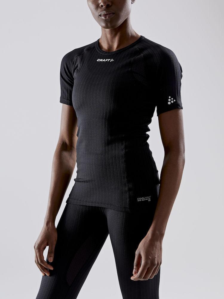 Image of CRAFT Active Extreme X Round Neck Women's T-Shirt 1909672 - 999000 Black
