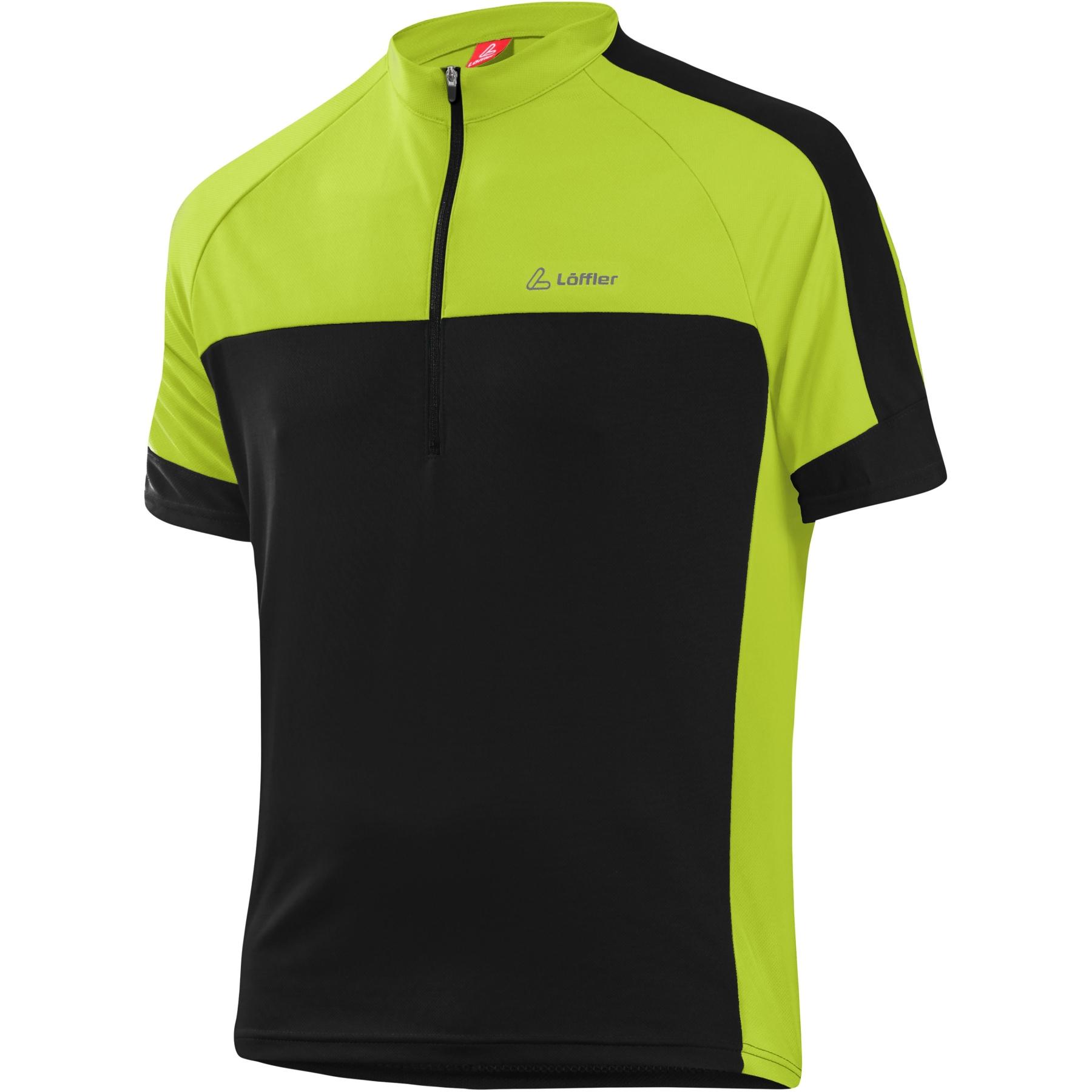 Bild von Löffler Bike Shirt HZ Pace 3.0 23523 - black/light green 993
