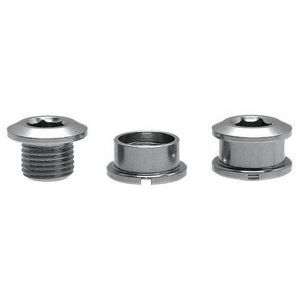 Problem Solvers Chainring Bolts with Nuts Aluminium 8mm