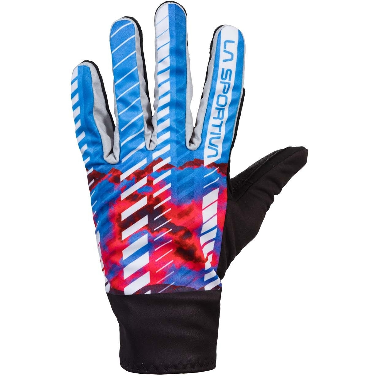 La Sportiva Skimo Race Gloves Women - Malibu Blue/Hibiscus