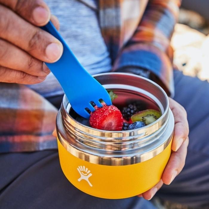Bild von Hydro Flask 12 Oz Insulated Food Jar Essbehälter - 355ml - Bilberry