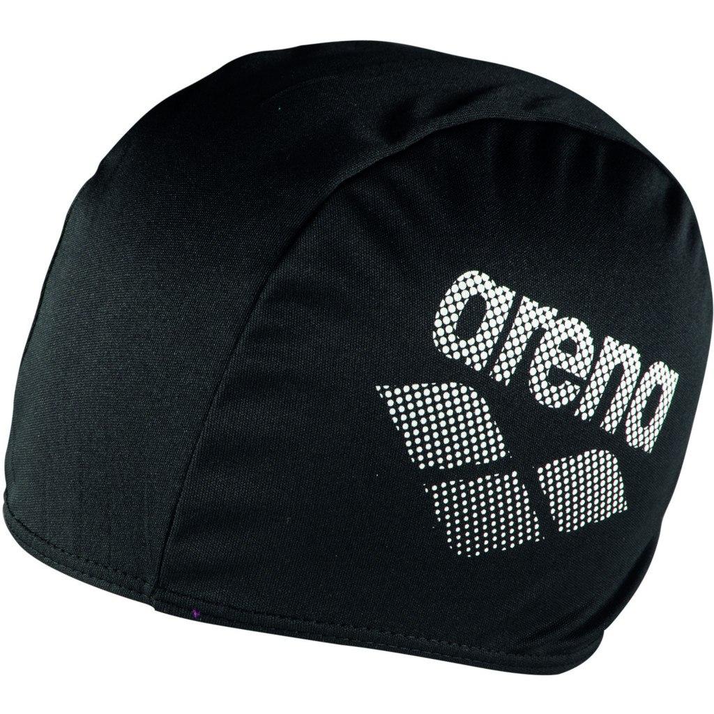 Produktbild von arena Polyester II Schwimmkappe - black