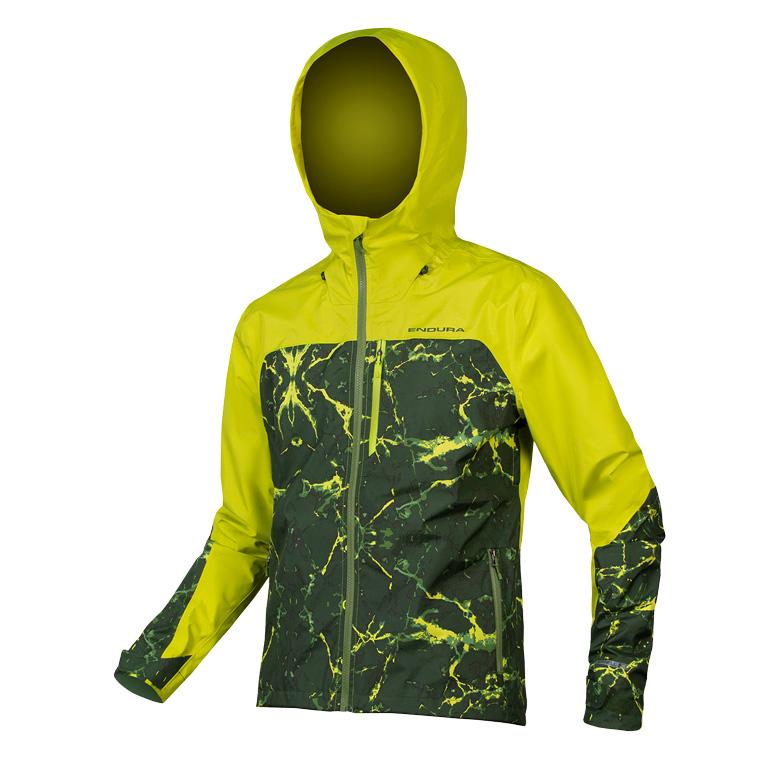 Endura SingleTrack Jacket - lime green