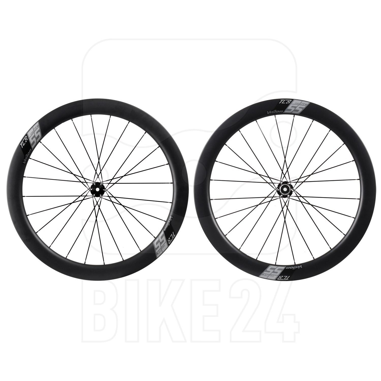 Vision SC 55 Disc Carbon Laufradsatz - Drahtreifen - Centerlock - VR: 12x100mm | HR: 12x142mm