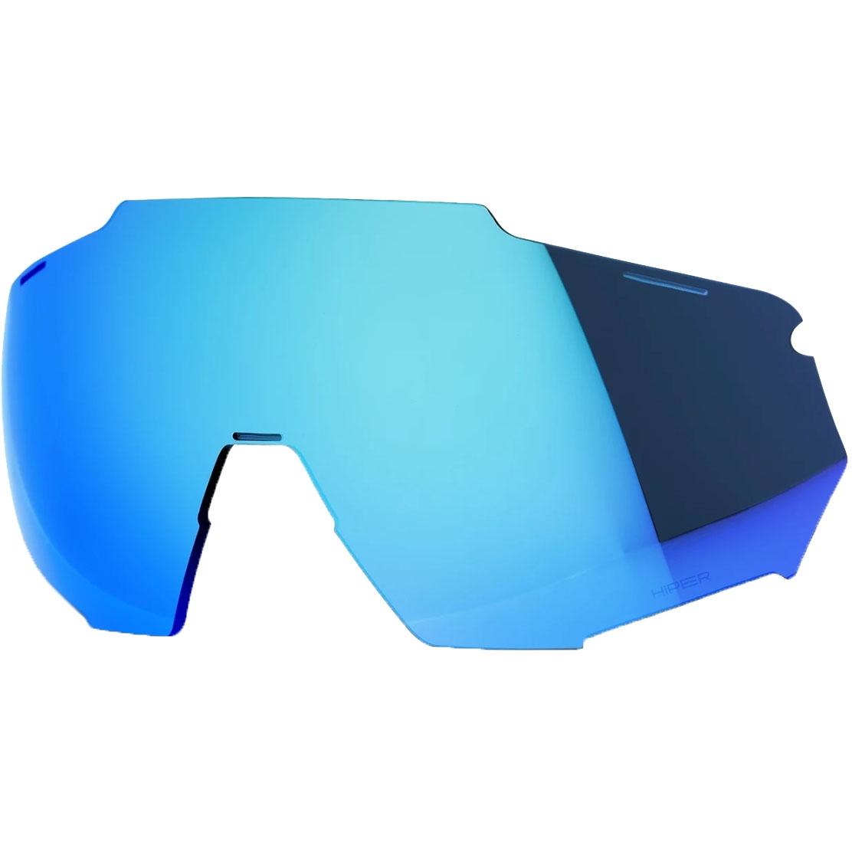 100% Racetrap Lente de repuesto - HiPER Mirror - Blue
