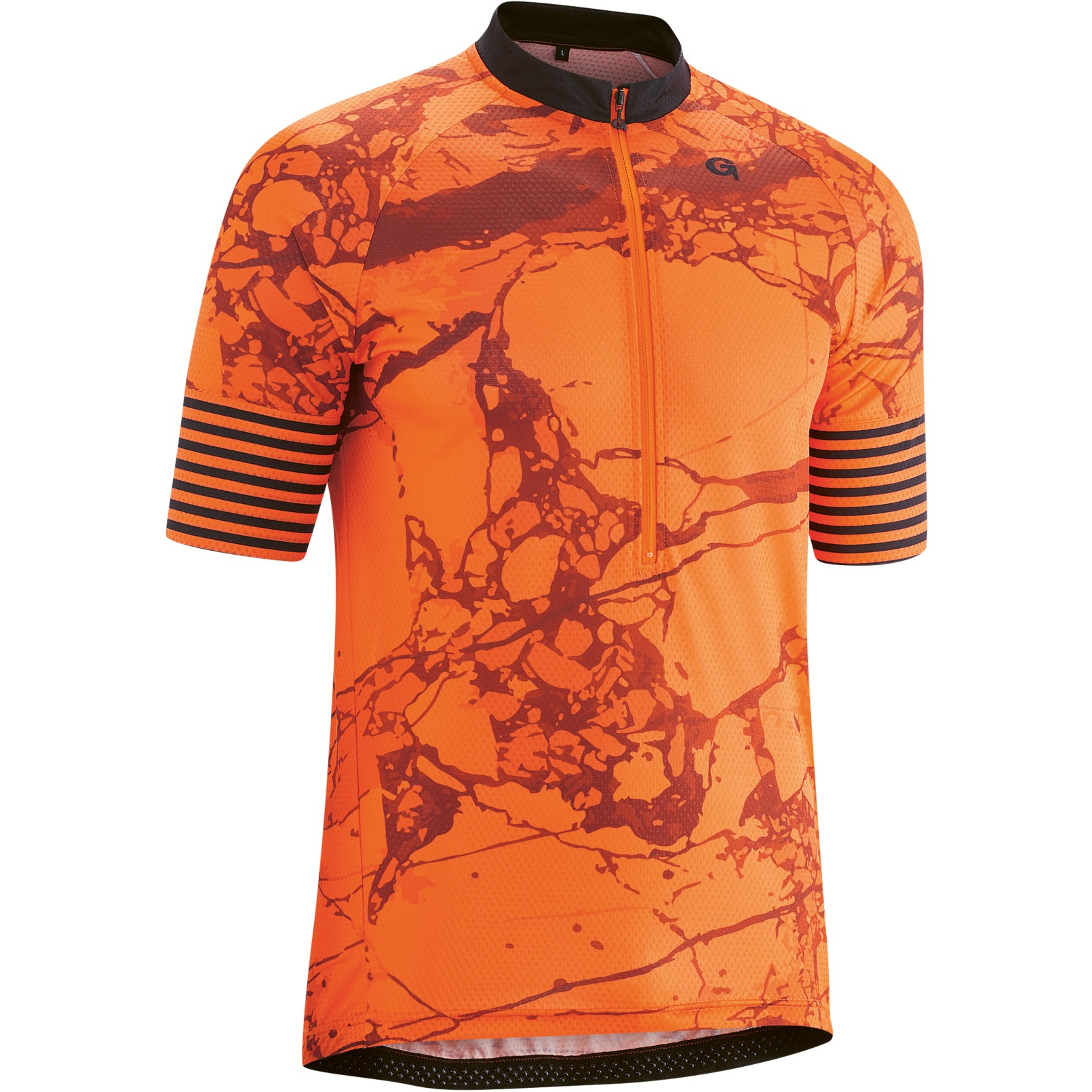 Gonso Almandin Men's Bike Jersey - mandarin red