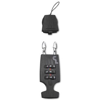 Bild von Lazer Cappuccino Lock Zahlenschloss für Helme - Dark Wood