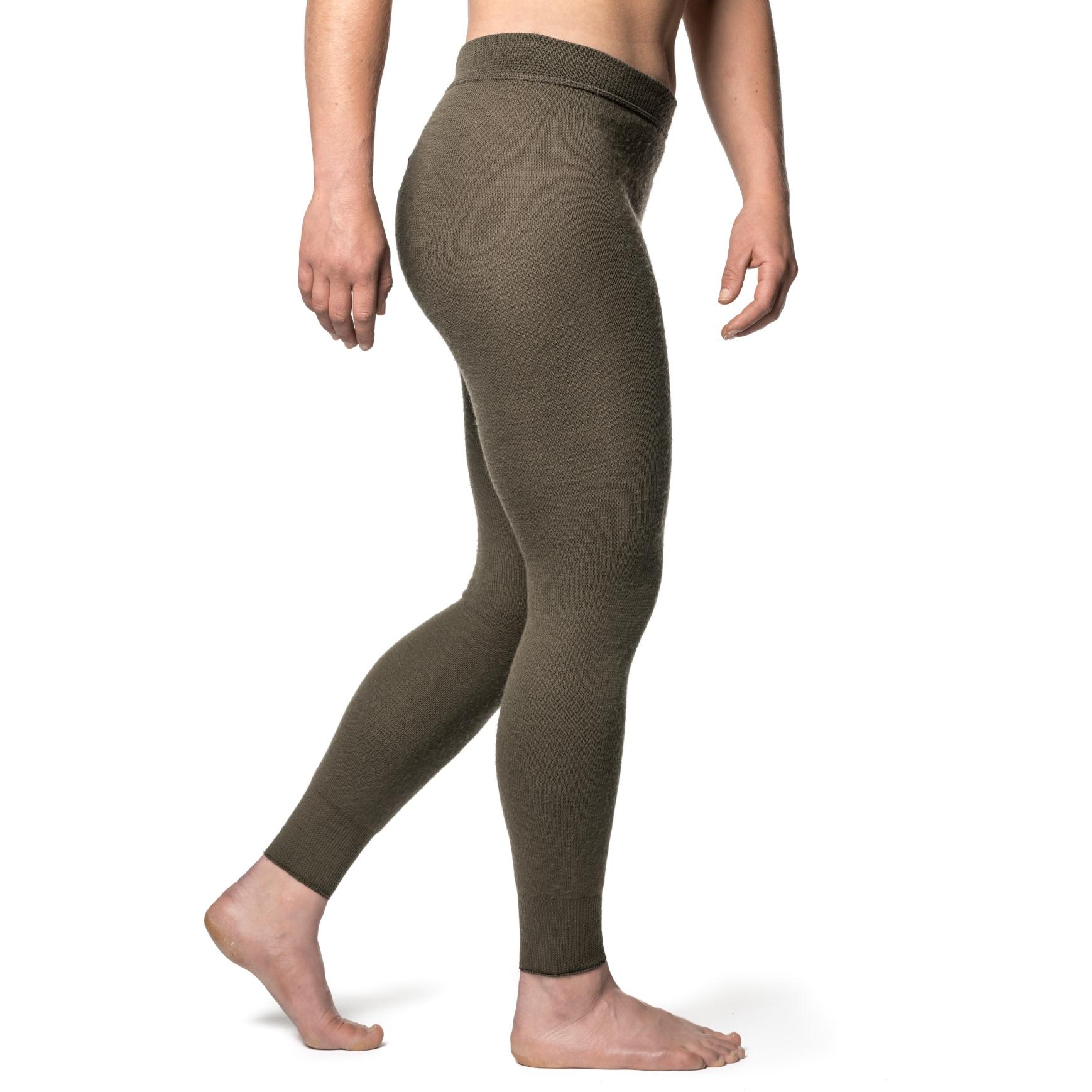 Image of Woolpower Long Johns 200 Unisex Underpants - pine green