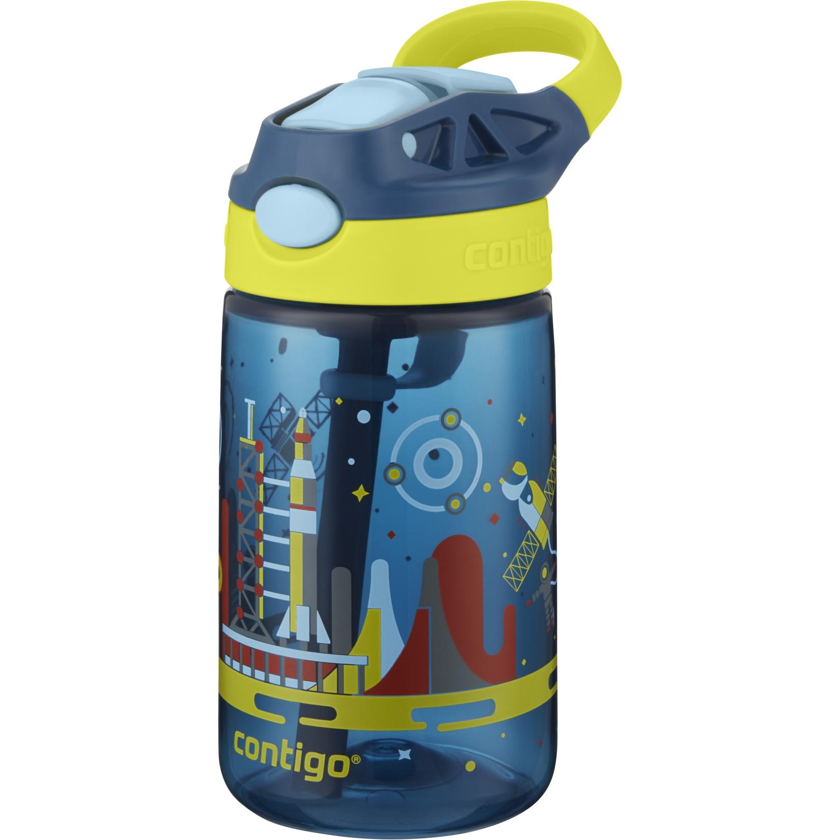 Contigo Gizmo Flip Water Bottle 420ml - nautical space