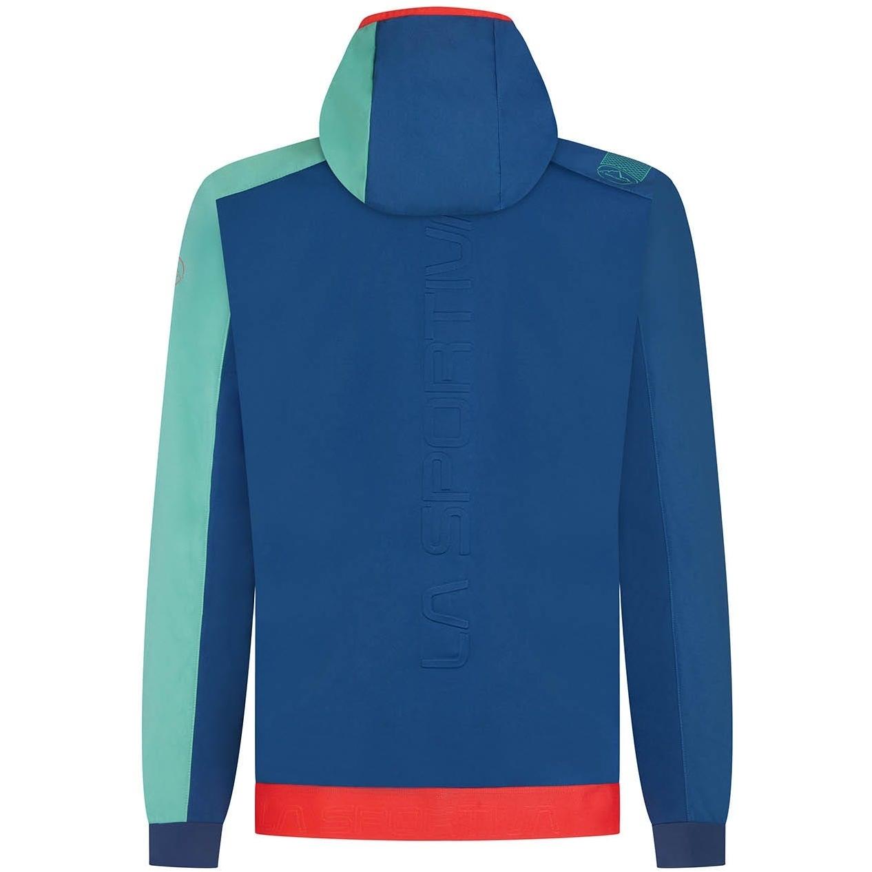 Image of La Sportiva Macnas Hoody Jacket - Opal/Grass Green