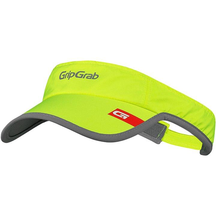 GripGrab Hi-Vis Lightweight Running Visor - Fluo Yellow
