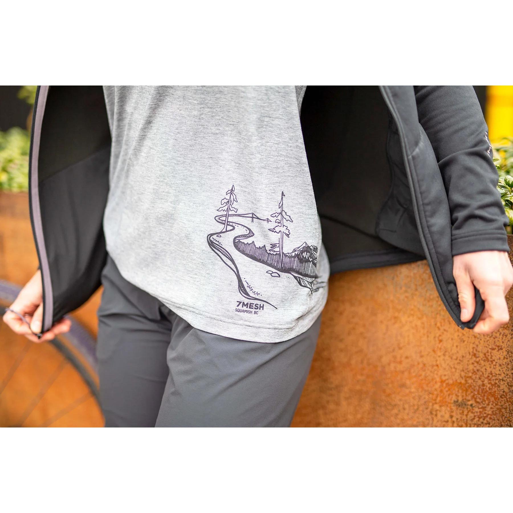 Imagen de 7mesh Elevate Bike Camiseta para mujer - Kate Zessel Series - Pebble Grey