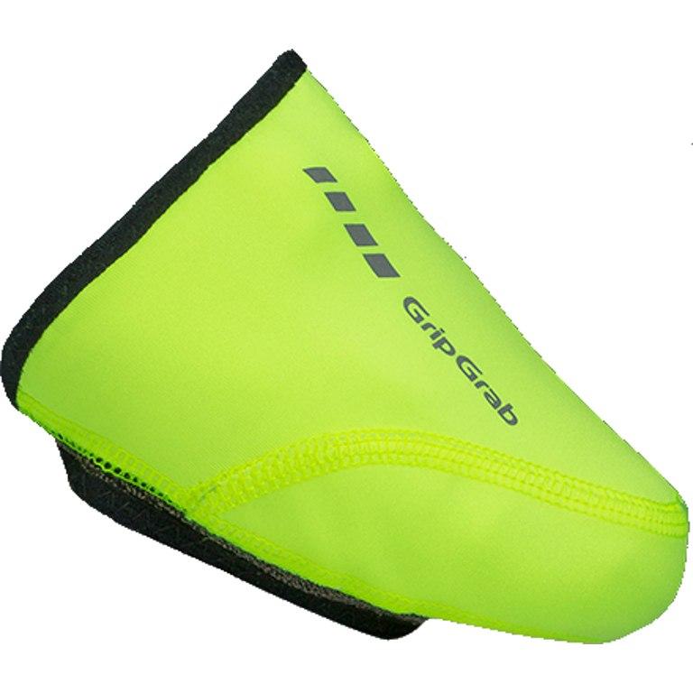 Image of GripGrab Windproof Hi-Vis Toe Cover - Yellow Hi-Vis