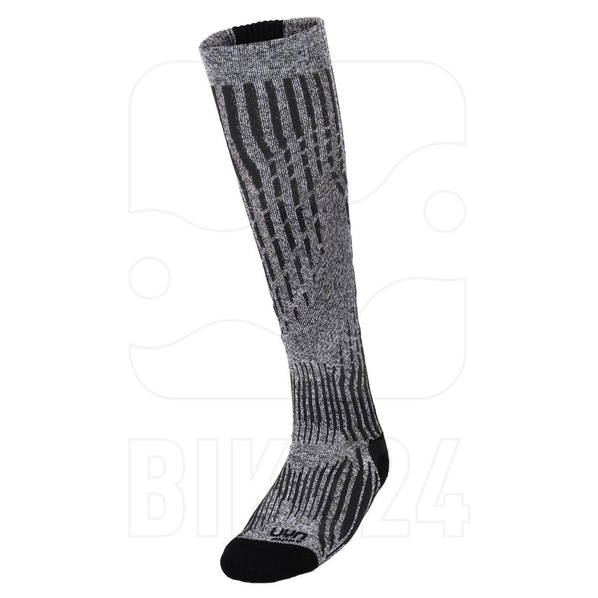UYN Ski Cashmere Shiny Socks Damen - celebrity silver