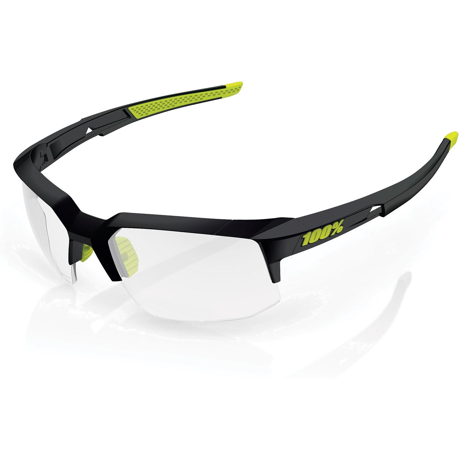 100% Speedcoupe Photochromic Lens Gafas - gloss black