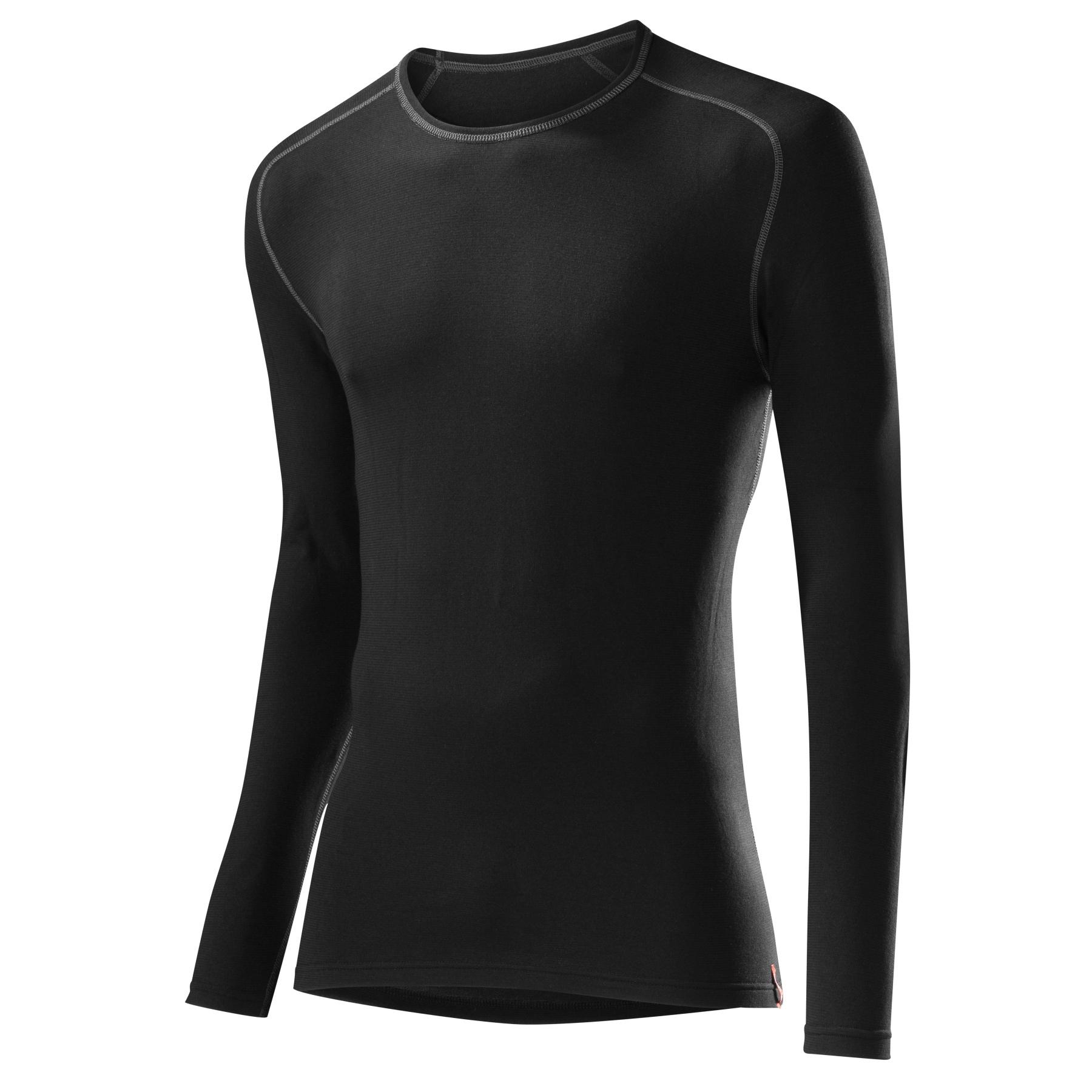 Löffler Langarm-Shirt Unterhemd Transtex Warm 10732 - black 990