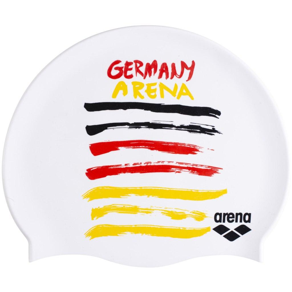 Foto de arena Flags Silicone Cap Gorro de baño - Germany