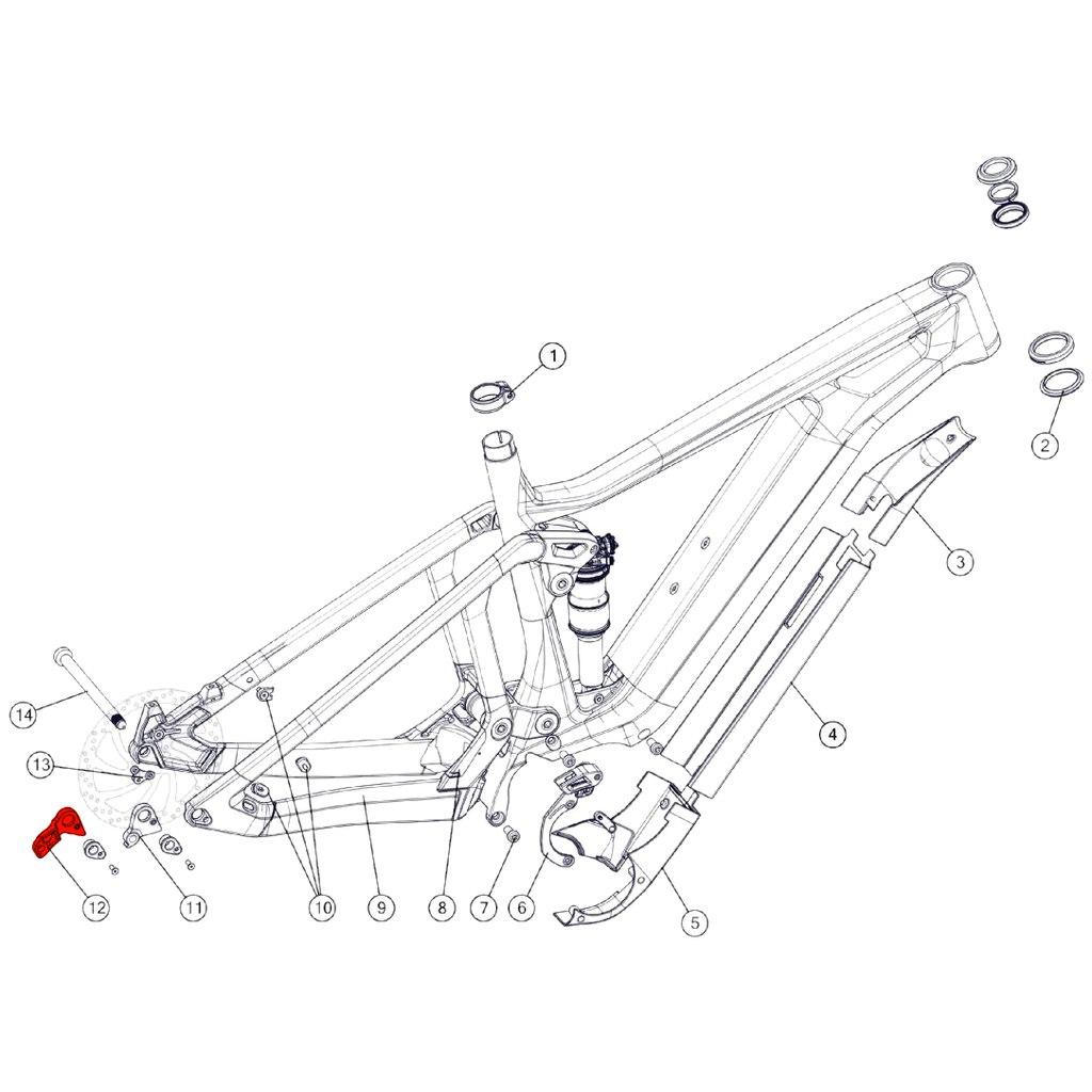 BMC Derailleur Hanger #63 - 301235