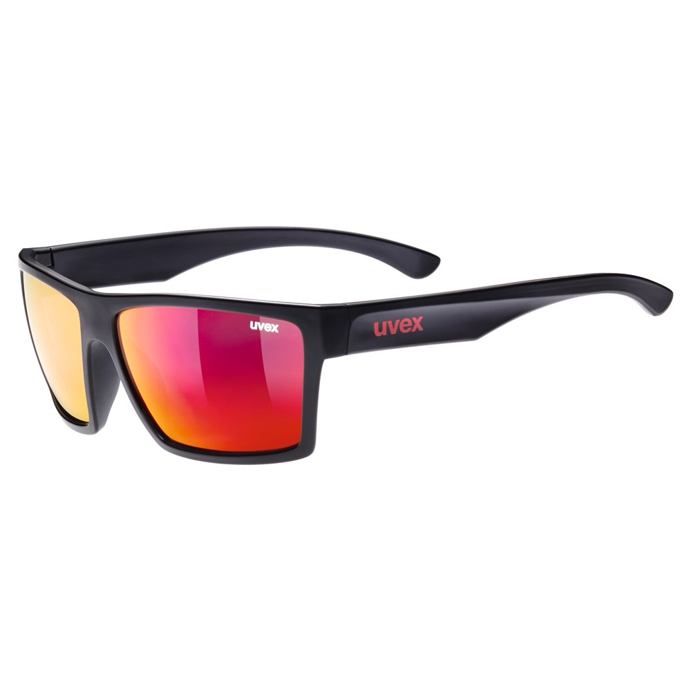 Uvex lgl 29 - black mat/mirror red Brille