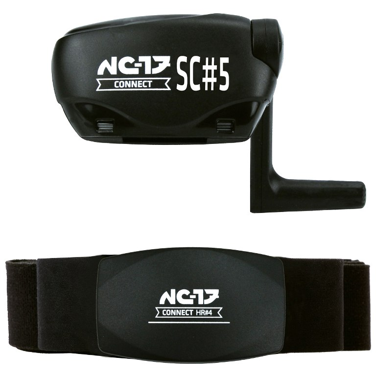 NC-17 Connect SC#5 Speed + Cadence Sensor incl. SC#4 Heart Rate Monitor