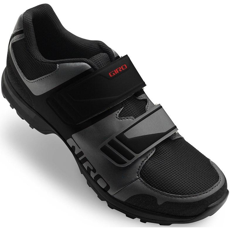Giro Berm MTB Schuhe - dark shadow/black