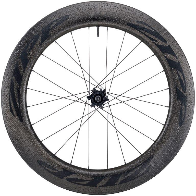 ZIPP 808 Firecrest Carbon Rear Wheel - Tubeless - Clincher - 6-Bolt - 12x142mm / QR - black