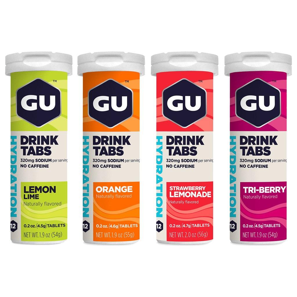 GU Hydration Drink Tabs with Electrolytes - 12 pcs.